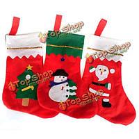 Носочки Санта-Клауса для подарков