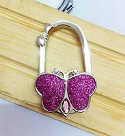 Держатель для сумки бабочка (розовая)