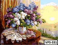 Картина на холсте по номерам VPS331 50x65см