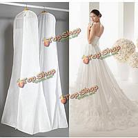 Крупные пыле одежды одежды мешок свадебное платье выпускного вечера бальное хранения крышка