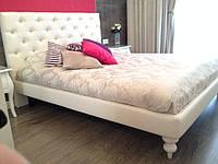 Двоспальне Ліжко Madonna 160*200 з м'яким узголів'ям честер на замовлення в Одесі