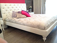 Двуспальная Кровать Madonna 160*200 с мягким изголовьем честер на заказ в Одессе