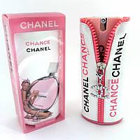Мини-парфюм  Chanel Chance Eau Tendre (Шанель Шанс Еу Тендр) 40 мл в чехле, фото 1