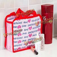 Удобно мыть косметики товары для хранения сумки путешествия макияж мешки пакет