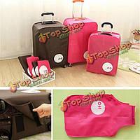 28\ пылезащитный мешок вагонетки багажа перемещения защитной крышки чемодана-дюймов