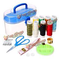 24шт DIY многофункциональный набор для шитья иглой и нитью главный швейный набор