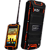 DIGOOR DG1, IP-68, Рация, 3200 мАч, GPS, 3G, 4 ядра. Защищенный телефон для экстрима! (Land Rover DG1)