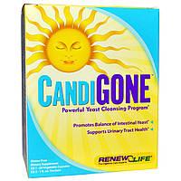 SALE, Противокандидный комплекс (CandiGone), Renew Life, 60 кап + 29 мл.