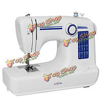 16 строчек многофункциональный электрический швейная машина бытовая двойной стежок оверлок
