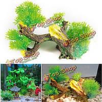 Бонсай дерево аквариум оформление аквариума аквариум орнамент