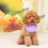 Кошки собаки аксессуары бантом DOT шарф прекрасный щенок хлопка painfore
