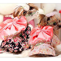 Летом одежды собаки кошка собака кимоно цветочные щенок кимоно