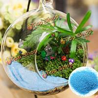 20г микро украшения ландшафта голубые пески сад DIY декор