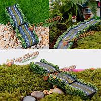 5шт DIY Mini смолы шоссе тротуар комнатные растения microlandschaf орнамент