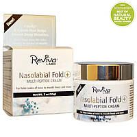 Крем от морщин и носогубных складок, Multi-Peptide Cream, REVIVA Labs, (55 г)