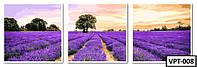 ТРИПТИХ Картины по номерам на холсте VPT-008  150х50см