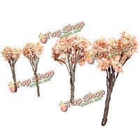 4 размера DIY пейзаж Минни черешневый лес горшечных растений садовый декор