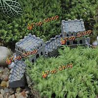 Сделай сам пейзаж мини-Грейт волл украшения горшечных растений садовый декор