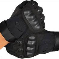 Тактические перчатки Оakley Полно палые защитные XL, Чёрный