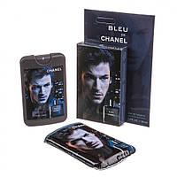 Духи (мини-парфюм) CHANEL BLEU de CHANEL 50 мл в стильном чехле с фотопечатью