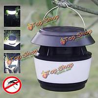 Солнечная энергия звуковой волны анти-комар LED свет сада нержавеющей стали водонепроницаемый светильник