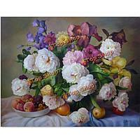 Поделки картина маслом по номерам свежих цветов цифровые наборы картины маслом бескаркасных холст стены декора подарок 40x50cm