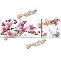 3шт сочетание цветок картины маслом напечатаны на холсте домашнего декоративного искусства картины