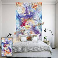 Вол цветок рольставни картина окно декора рольставни стена рисунок занавес