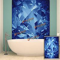 Вол рольставни картина рольставней фона декор стен синее окно занавес интерьер