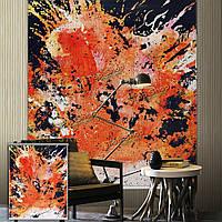 Вол рольставни абстрактный печати картина рольставни домой фон окна декор стен занавес