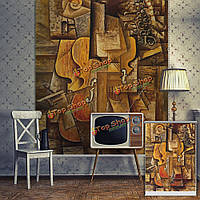 Вол рольставни абстракция рольставни картину стена домашнего декора занавески