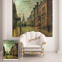 Вол рольставни улица сцена рольставни печати картина стена окно декор занавес