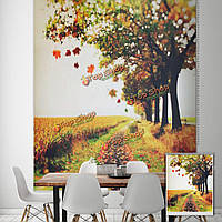 Вол рольставни осень печати картина рольставни фоне стены занавески декор