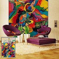 Вол рольставни визуальное воздействие живописи рольставни фон окна декор стен занавес