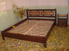 """Кровать """"Магия Дерева"""" (200*200см.), массив - сосна, ольха, береза, дуб., фото 3"""
