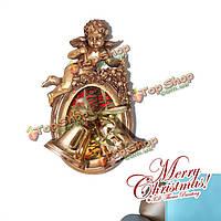 3-и рождественские колокола поворачивают стенную этикетку переводных картинок этикетки Пага домашний стенной подарок обстановки