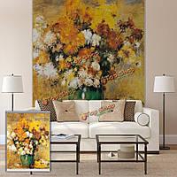 Вол декор стен занавес окна рольставни масло цветка печати картина рольставни фон