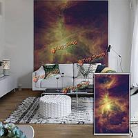 Звездное небо вол окна декора стены занавеса рольставни печать картины рольставни фон