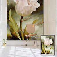 Вол тюльпан окна декора стены занавеса рольставни цветок печати картина рольставни фон