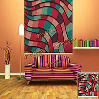 Вол абстрактный стены окна декора занавеса рольставни печать картины рольставни фон
