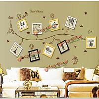 160см фоторамка съемная стена свадебные фотографии рамки этикета стикера домой DIY подарок