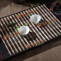Натуральный бамбук чай чашка мат каботажное кунгфу чай Accessaries