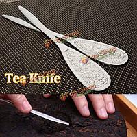 Из нержавеющей стали пу эр чай нож Kongfu чай монтировку чай торт кирпич инструмент