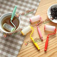 Силикон качению щетка чайное ситечко для заварки чая листья творческий фильтр inundator инструменты чая