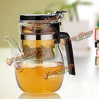 Кристально чистый стакан чая горшок чая листья набор фильтрации чай горшок