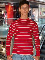 Мужская футболка (кофта) (Красный)
