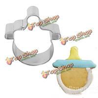 Детская соска формы фондант торт прессформы выпечки печенья печенья