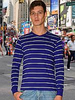 Мужская футболка (кофта) (Синий)