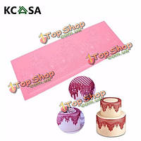 Классическая корону кружева силиконовые формы свадебный торт помадка формы