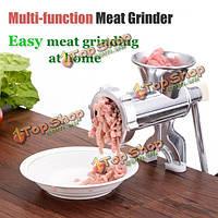 Тип зажима алюминиевого сплава ручной мясорубки мясорубки мини колбаса машина